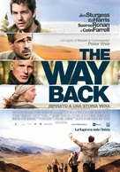 The Way Back - Italian Movie Poster (xs thumbnail)