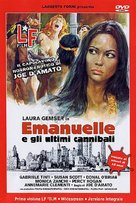 Emanuelle e gli ultimi cannibali - Italian DVD cover (xs thumbnail)