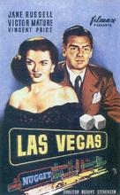 The Las Vegas Story - Spanish Movie Poster (xs thumbnail)