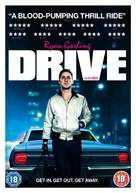 Drive - British DVD movie cover (xs thumbnail)