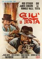 Giù la testa - Italian Movie Poster (xs thumbnail)