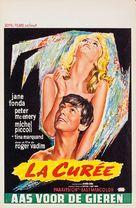 Curée, La - Belgian Movie Poster (xs thumbnail)