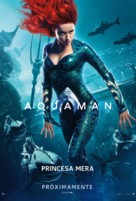 Aquaman - Mexican Movie Poster (xs thumbnail)