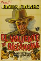 The Oklahoma Kid - Argentinian Movie Poster (xs thumbnail)