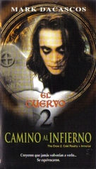 """""""The Crow: Stairway to Heaven"""" - Mexican VHS movie cover (xs thumbnail)"""