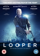 Looper - British DVD movie cover (xs thumbnail)
