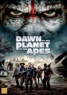 Dawn of the Planet of the Apes - Danish Movie Cover (xs thumbnail)