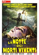 Night of the Living Dead - Italian Movie Poster (xs thumbnail)