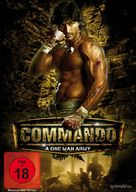 Commando - German DVD cover (xs thumbnail)