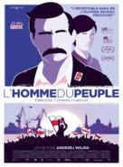 Walesa. Czlowiek z nadziei - French Movie Poster (xs thumbnail)