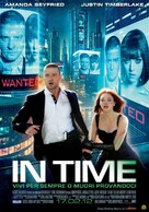In Time - Italian Movie Poster (xs thumbnail)
