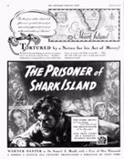 The Prisoner of Shark Island - Movie Poster (xs thumbnail)