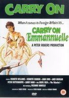 Carry on Emmannuelle - British DVD cover (xs thumbnail)