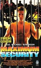 Maximum Revenge - German VHS movie cover (xs thumbnail)