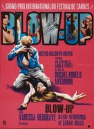 Blowup - French Movie Poster (xs thumbnail)