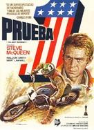 On Any Sunday - Spanish Movie Poster (xs thumbnail)