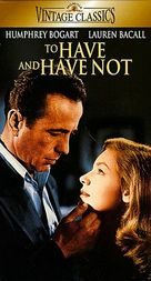 To Have and Have Not - VHS cover (xs thumbnail)