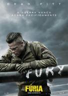Fury - Portuguese Movie Poster (xs thumbnail)