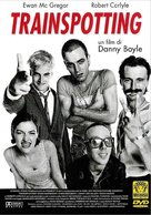 Trainspotting - Italian DVD movie cover (xs thumbnail)