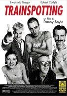 Trainspotting - Italian DVD movie cover (xs thumbnail)