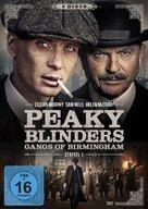 """""""Peaky Blinders"""" - German DVD cover (xs thumbnail)"""