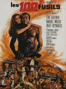100 Rifles - French Movie Poster (xs thumbnail)