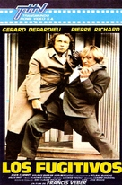 Les fugitifs - Argentinian VHS cover (xs thumbnail)