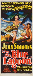 The Blue Lagoon - Australian Movie Poster (xs thumbnail)