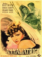 The Flame of New Orleans - Italian Movie Poster (xs thumbnail)