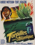 The Enemy Below - French Movie Poster (xs thumbnail)