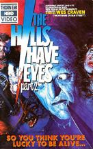 The Hills Have Eyes Part II - VHS cover (xs thumbnail)