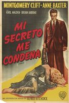I Confess - Argentinian Movie Poster (xs thumbnail)
