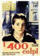 Les quatre cents coups - Italian Movie Poster (xs thumbnail)