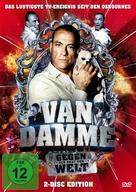 """Jean Claude Van Damme: Behind Closed Doors"" - German DVD cover (xs thumbnail)"