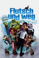 Flushed Away - German DVD cover (xs thumbnail)