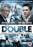 The Double - British DVD movie cover (xs thumbnail)