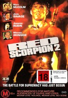 Red Scorpion 2 - Australian Movie Cover (xs thumbnail)