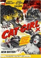 Cat Girl - British Movie Poster (xs thumbnail)