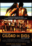 Cidade de Deus - Mexican Movie Poster (xs thumbnail)