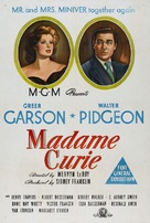 Madame Curie - Australian Movie Poster (xs thumbnail)