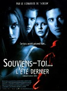 I Know What You Did Last Summer - French Movie Poster (xs thumbnail)
