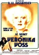 Die Sehnsucht der Veronika Voss - French Movie Poster (xs thumbnail)