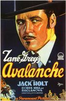 Avalanche - Movie Poster (xs thumbnail)