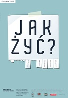 Jak zyc - Polish Movie Poster (xs thumbnail)