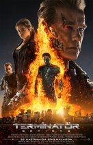 Terminator Genisys - Turkish Movie Poster (xs thumbnail)