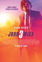 John Wick: Chapter 3 - Parabellum - Polish Movie Poster (xs thumbnail)