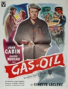 Gas-Oil - French Movie Poster (xs thumbnail)