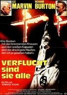 The Klansman - German Movie Poster (xs thumbnail)