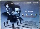 Heat - British Movie Poster (xs thumbnail)
