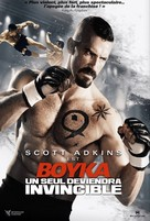Boyka: Undisputed IV - French DVD movie cover (xs thumbnail)